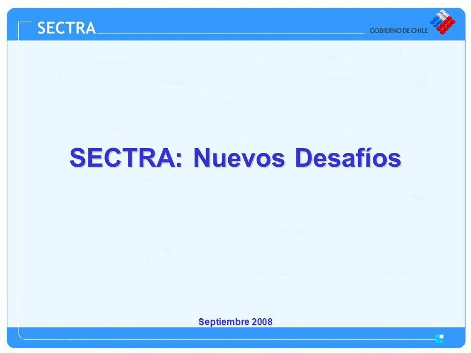 Septiembre 2008 SECTRA: Nuevos Desafíos