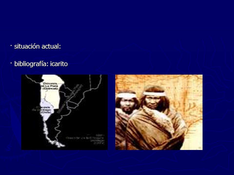 · situación actual: · bibliografía: icarito