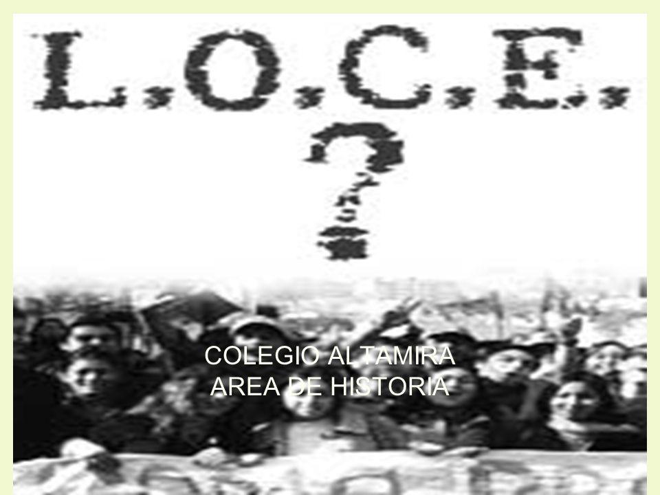 COLEGIO ALTAMIRA AREA DE HISTORIA