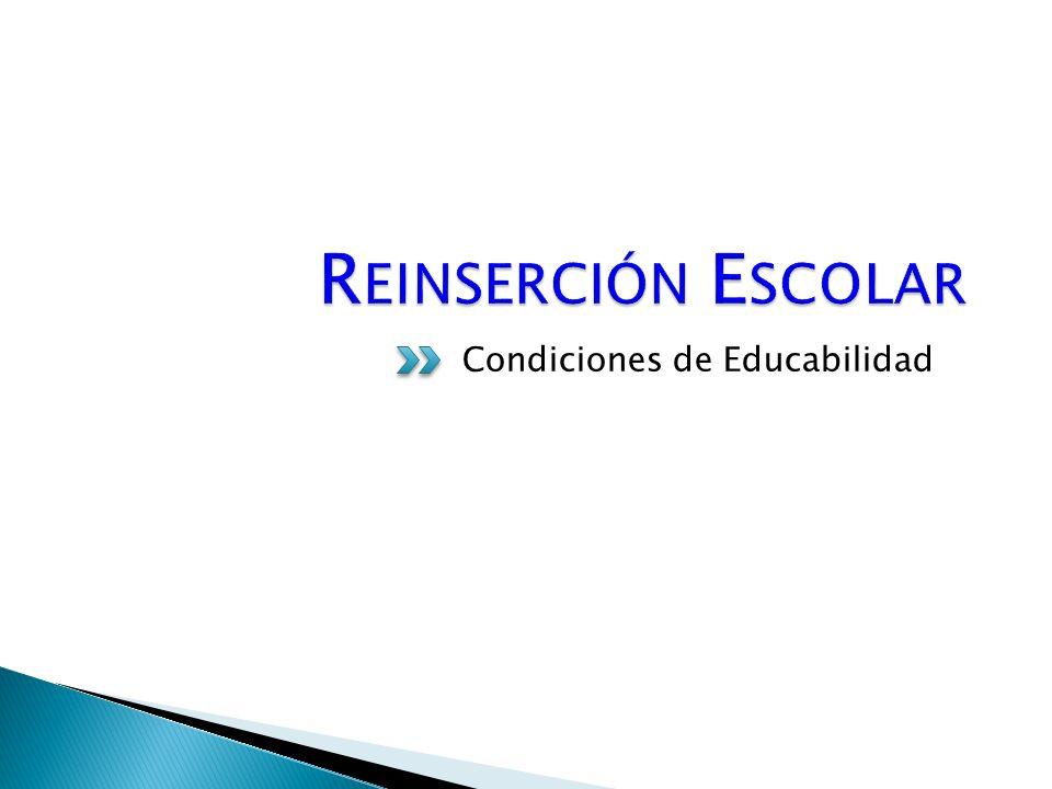 Condiciones de Educabilidad