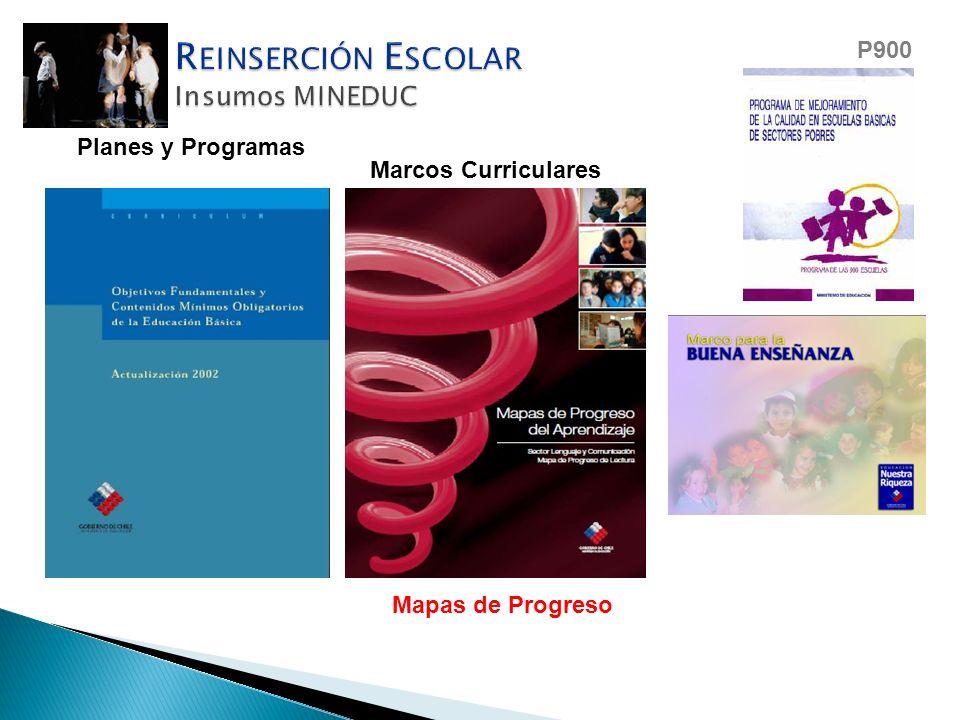 OFCM Planes y Programas Marcos Curriculares Mapas de Progreso P900