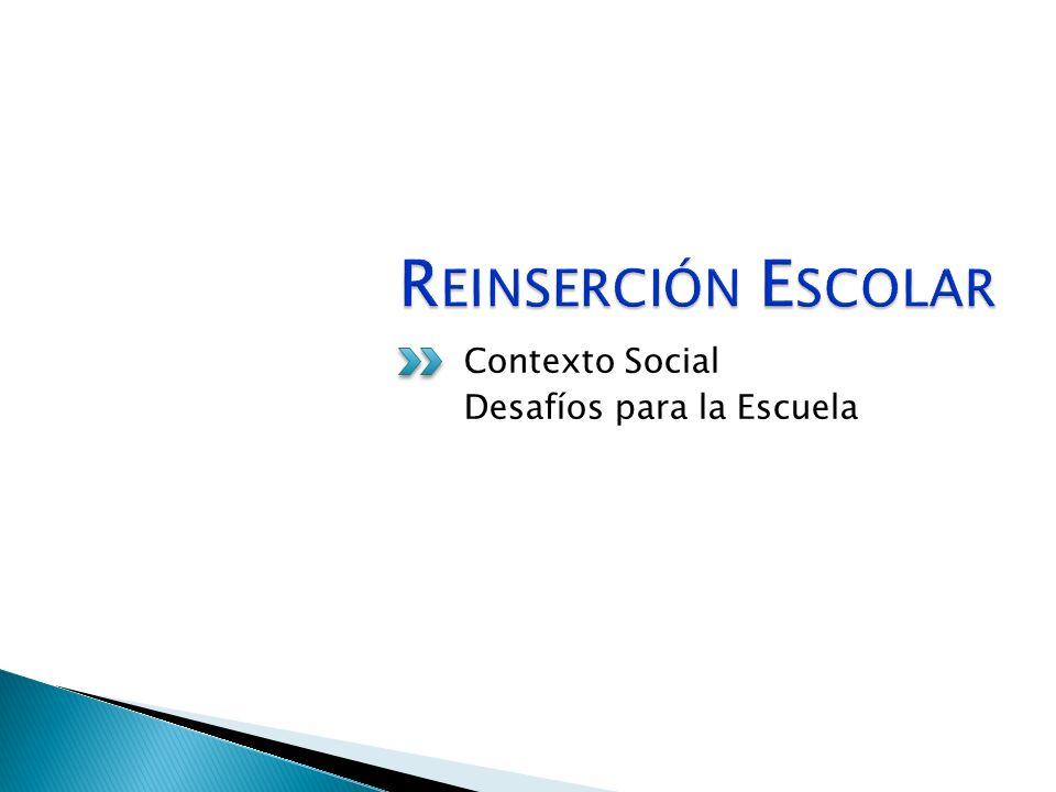 Contexto Social Desafíos para la Escuela