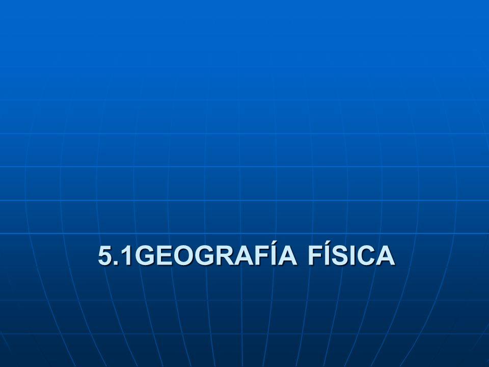 5. RAMAS DE LA GEOGRAFÍA