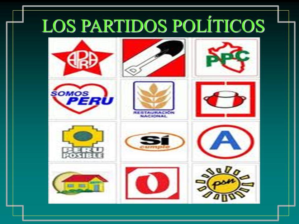 ¿Que es lo que posee un partido político.
