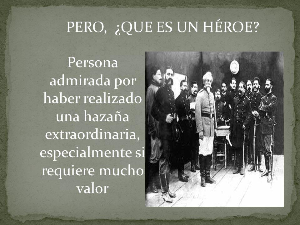 ¿ A QUÉ SE DENOMINA HEROISMO.