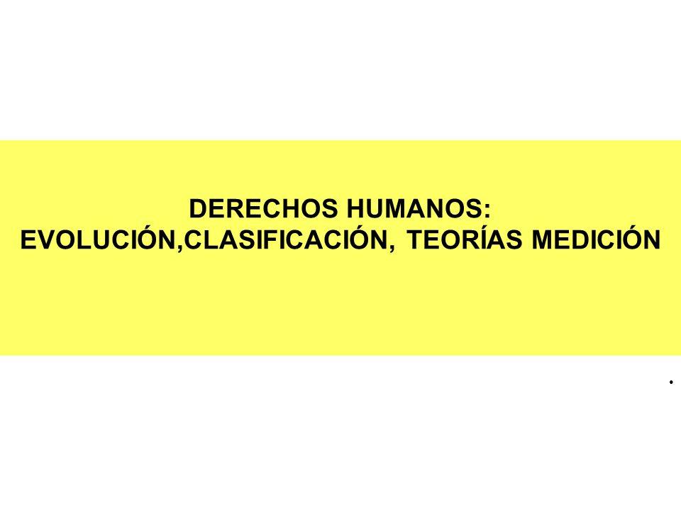 EVOLUCIÓN DE LOS DERECHOS HUMANOS PRIMERA GENERACIÓN SEGUNDA GENERACIÓN TERCERA GENERACIÓN CONTEXTO HISTÓRICO REV.