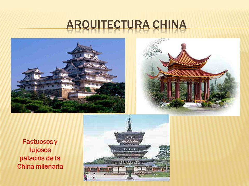 Fastuosos y lujosos palacios de la China milenaria