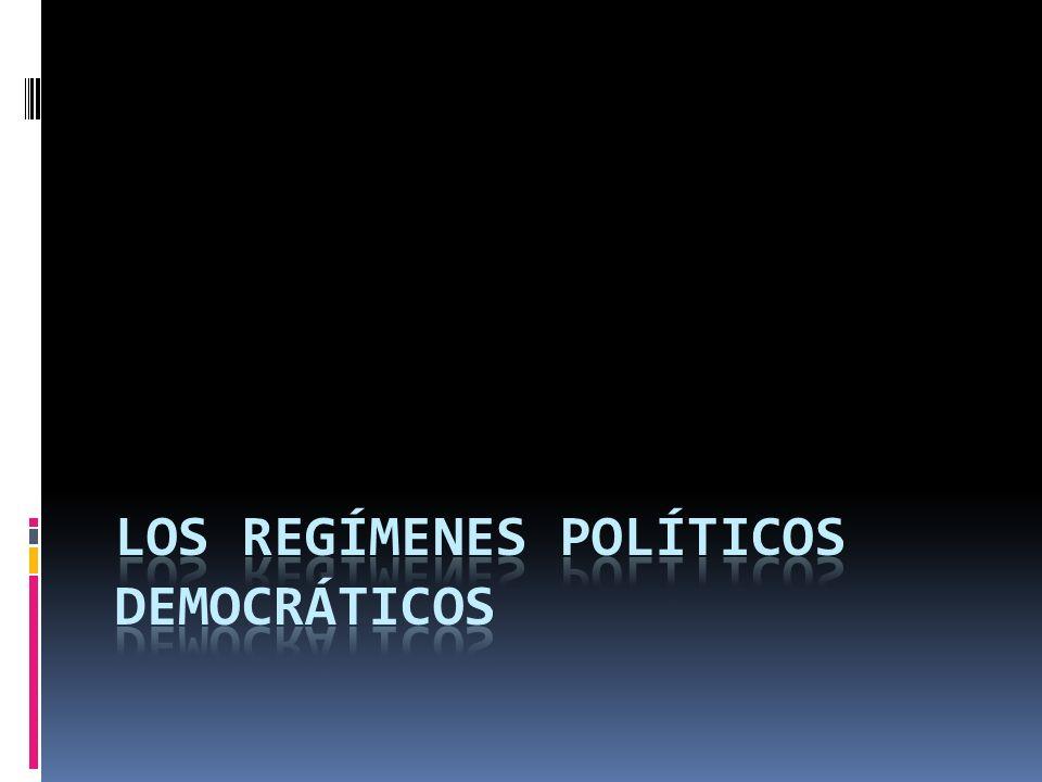 La Democracia tiene diversas variantes de acuerdo con la forma en que se organiza el régimen polìtico.