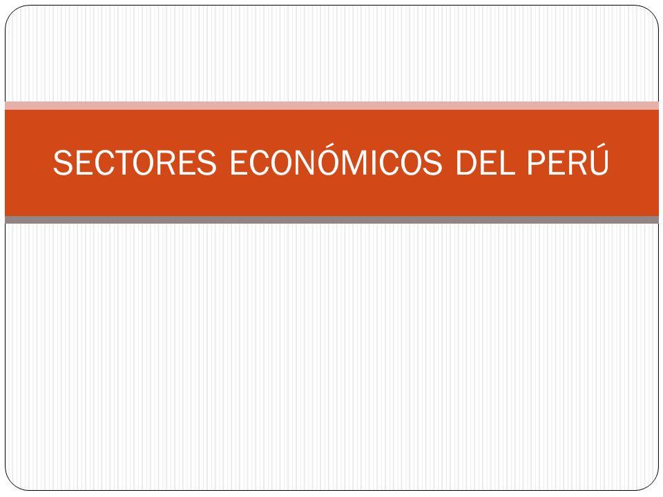 SECTOR PRIMARIO Y PBI Es interesante el aporte de este sector, siempre ha sido el principal contribuyente a este indicador macroeconómico, pero ahora compite fuertemente con el sector servicios.