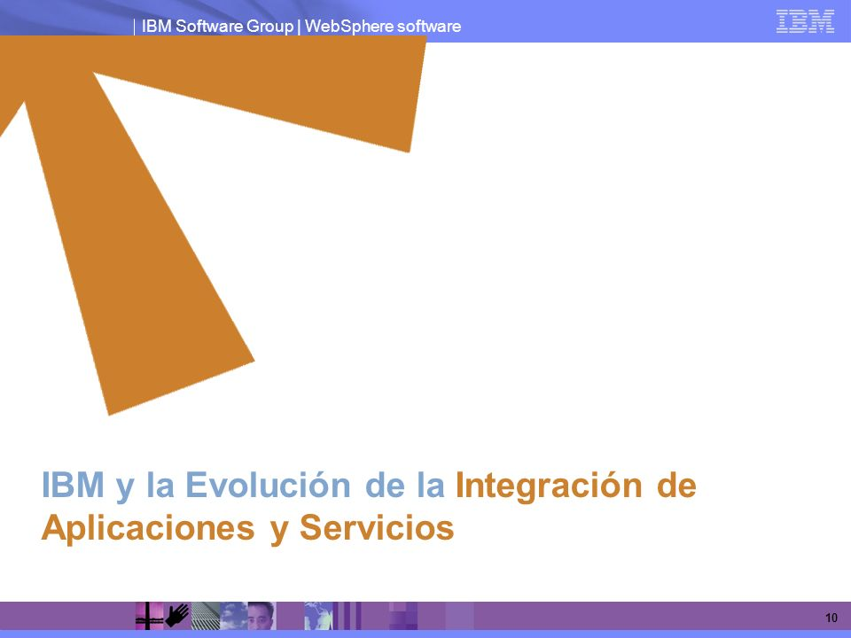 IBM Software Group | WebSphere software 10 IBM y la Evolución de la Integración de Aplicaciones y Servicios
