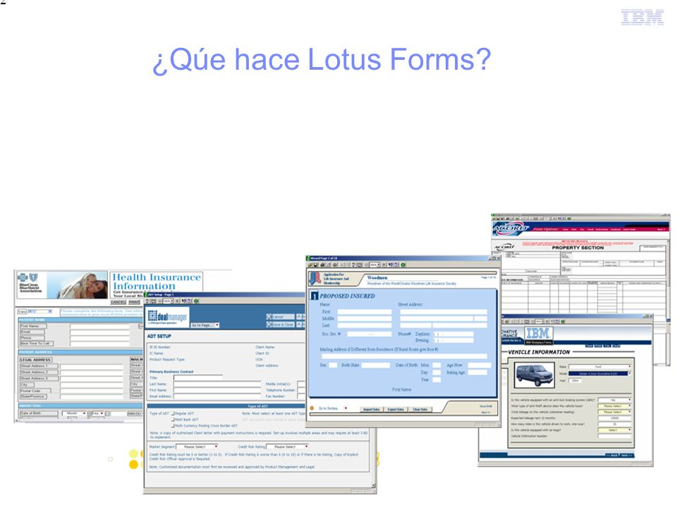 2 ¿Qúe hace Lotus Forms