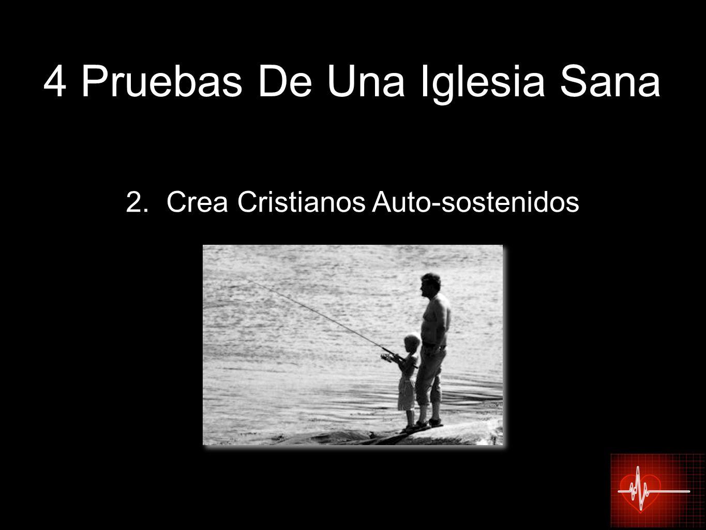 2. Crea Cristianos Auto-sostenidos 4 Pruebas De Una Iglesia Sana