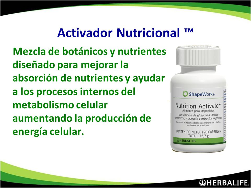 Apoya la asimilación, absorción y activación. Mejora la vitalidad Optimiza la producción de energía. Antioxidante Activador Nutricional