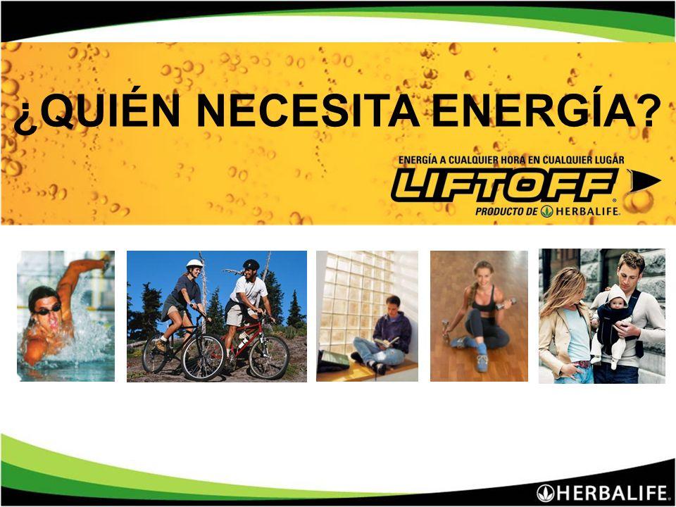 Liftoff : ¡Energía a cualquier hora en cualquier lugar! Dos refrescantes sabores: Naranja y Lima-Limón