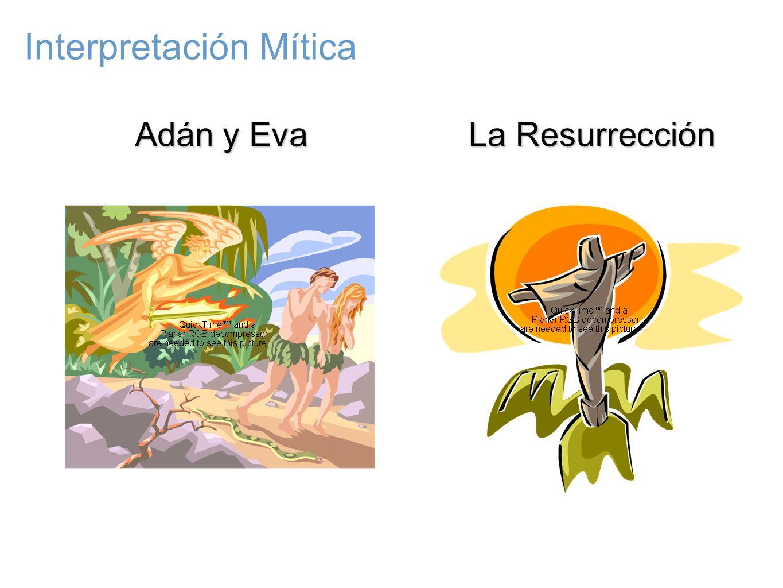 Adán y Eva La Resurrección Interpretación Mítica