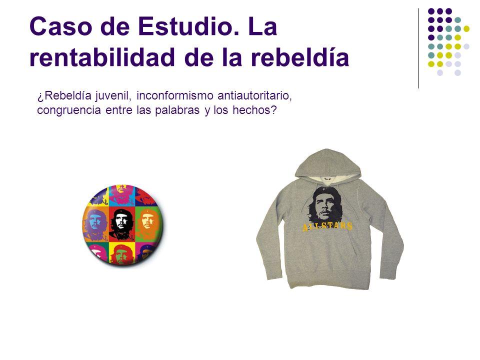 Caso de Estudio. La rentabilidad de la rebeldía ¿Rebeldía juvenil, inconformismo antiautoritario, congruencia entre las palabras y los hechos?