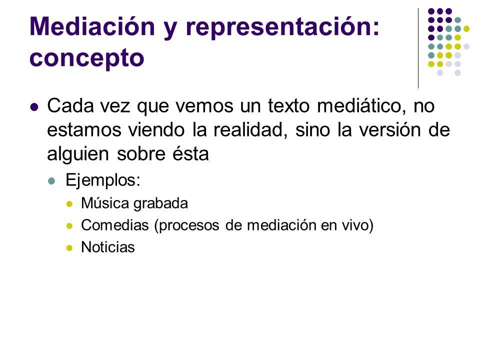 Estereotipos Mediáticos.