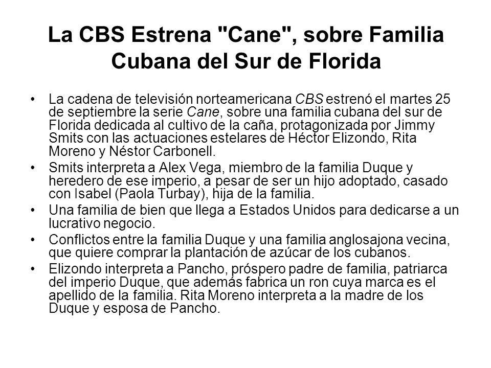 La CBS Estrena