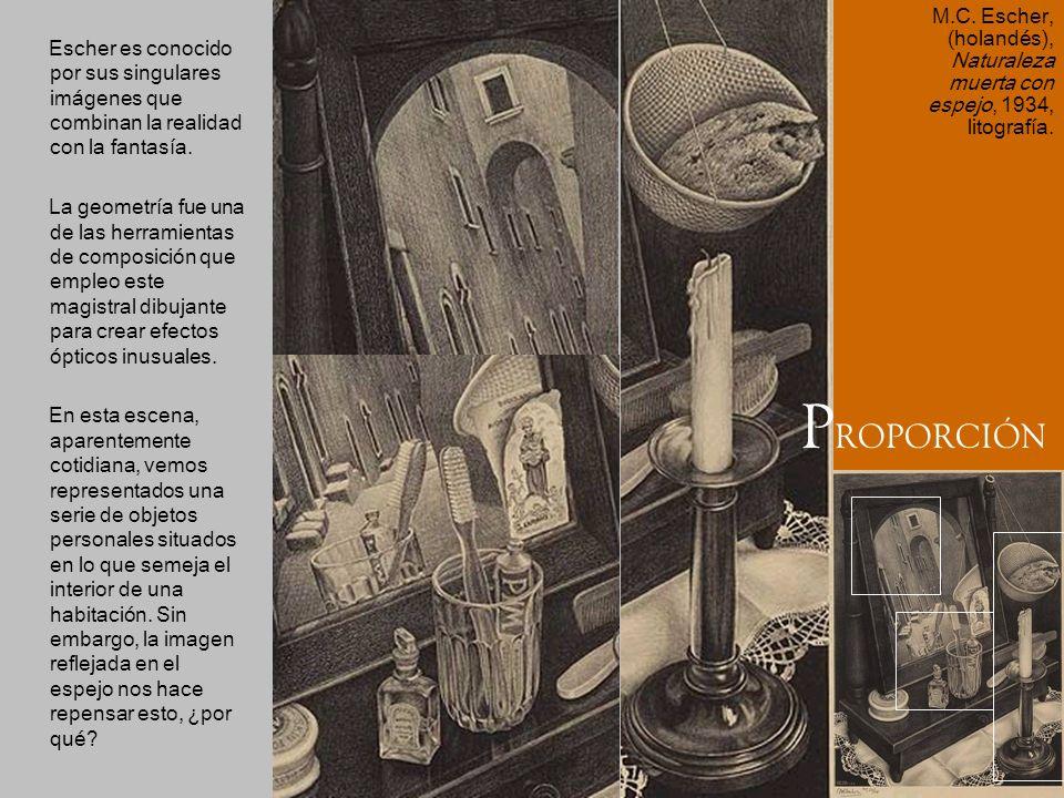 Escher es conocido por sus singulares imágenes que combinan la realidad con la fantasía. La geometría fue una de las herramientas de composición que e