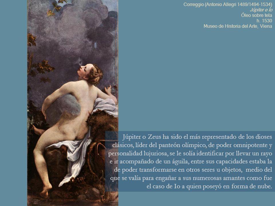 La bella princesa Psique es amada por Cupido, hijo de Venus; en la pintura Psique es sorprendida por el primer beso de amor del dios que es invisible para ella.