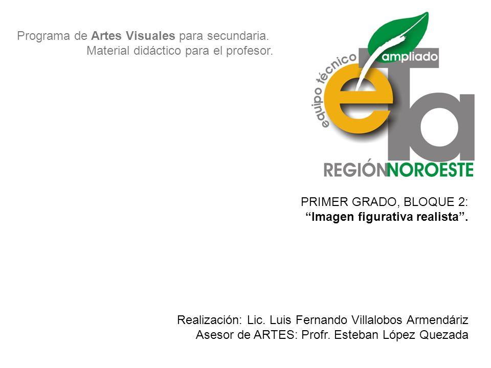 Programa de Artes Visuales para secundaria.Material didáctico para el profesor.
