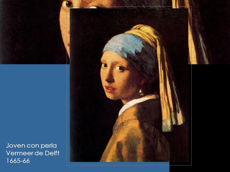 Joven con perla Vermeer de Delft 1665-66