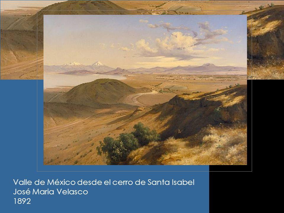 Valle de México desde el cerro de Santa Isabel José Maria Velasco 1892