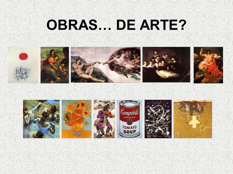OBRAS… DE ARTE?