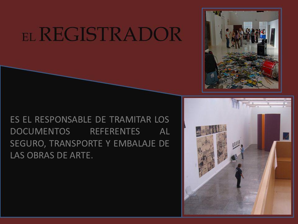EL DOCUMENTALISTA ES EL RESPONSABLE DE UBICAR TODA LA BIBLIOGRAFÍA, DOCUMENTOS Y MATERIALES QUE PERMITEN AL CURADOR Y AL MUSEÓGRAFO DESARROLLAR LA EXPOSICIÓN.