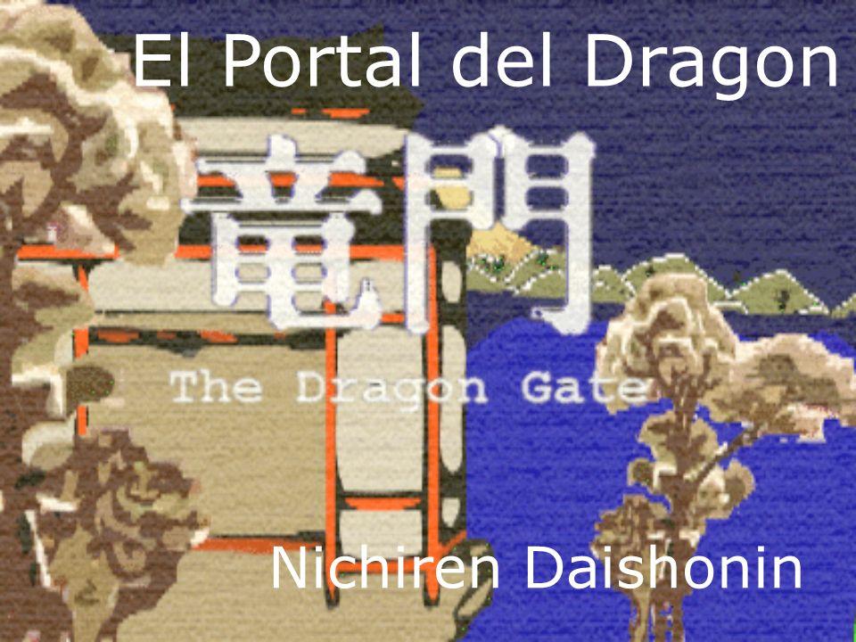Nichiren Daishonin El Portal del Dragon