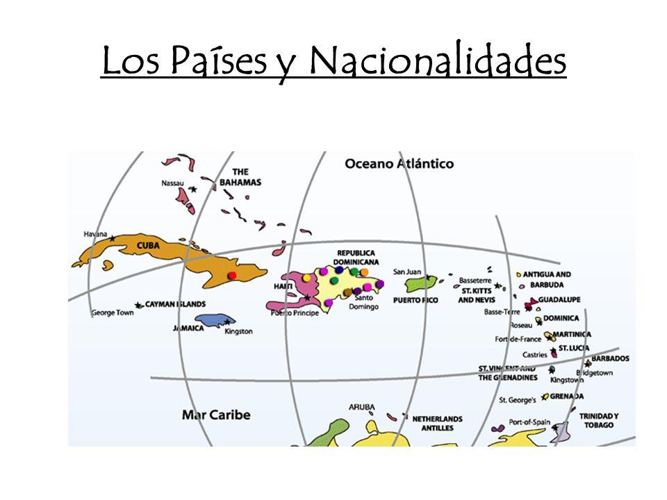 Los Países y Nacionalidades