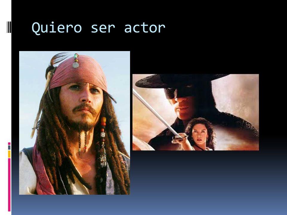 Quiero ser actor