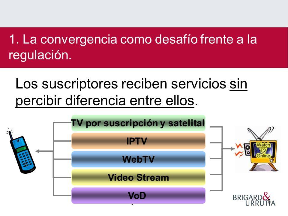 Sergio Michelsen5 Los suscriptores reciben servicios sin percibir diferencia entre ellos.