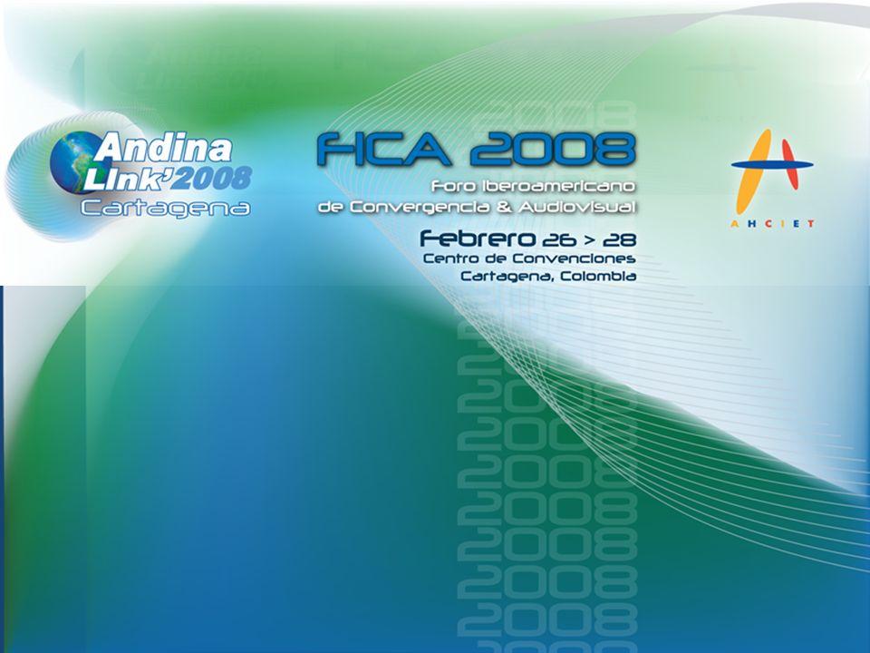 Qué es el FICA 2008 El Foro Iberoamericano de la Convergencia y el Audiovisual es el escenario donde los ejecutivos y líderes de opinión de los operadores de televisión y telecomunicaciones de Ibero – América, pueden analizar y estudiar de manera conjunta el impacto financiero, comercial y tecnológico de la implementación de contenidos y tecnologías audiovisuales en la era digital.