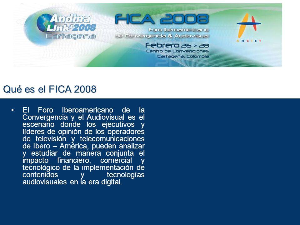 Quienes participan en el FICA.