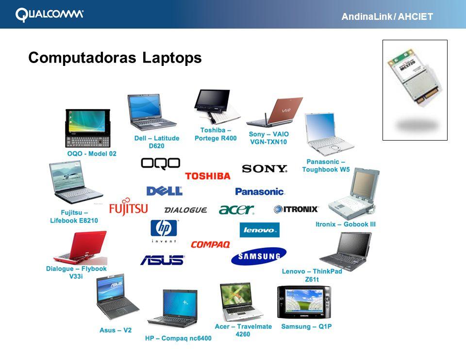 AndinaLink / AHCIET Computadoras Laptops
