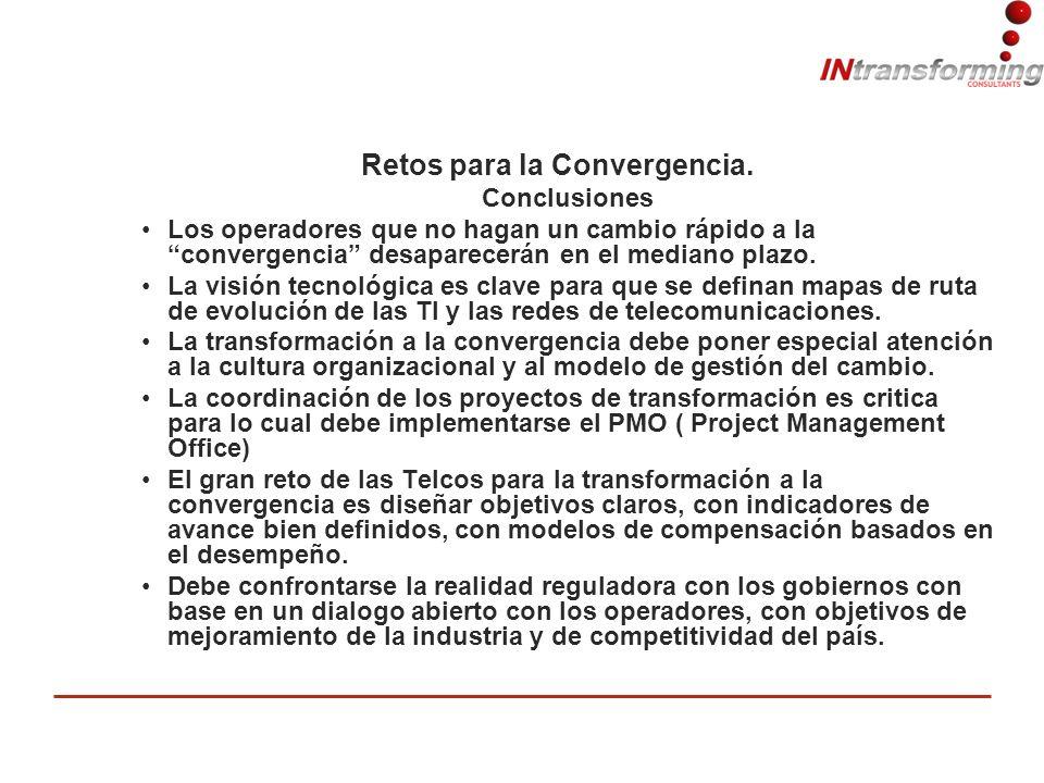 Retos para la Convergencia.
