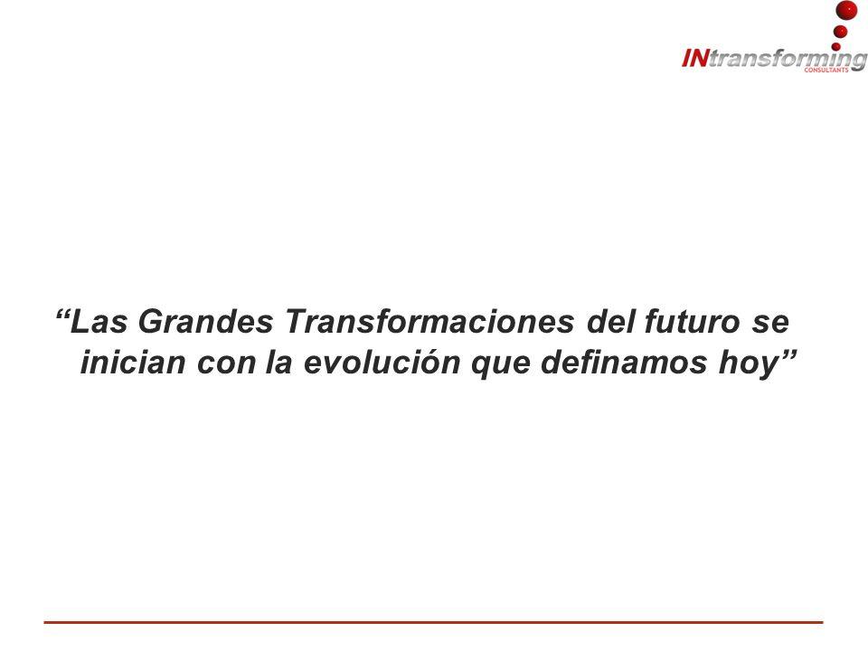 Las Grandes Transformaciones del futuro se inician con la evolución que definamos hoy