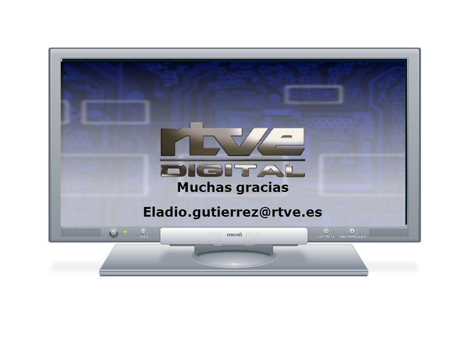 Muchas gracias Eladio.gutierrez@rtve.es