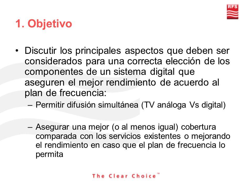 1. Objetivo Discutir los principales aspectos que deben ser considerados para una correcta elección de los componentes de un sistema digital que asegu