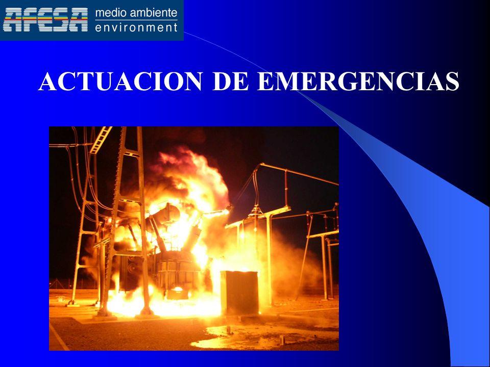 ACTUACION DE EMERGENCIAS