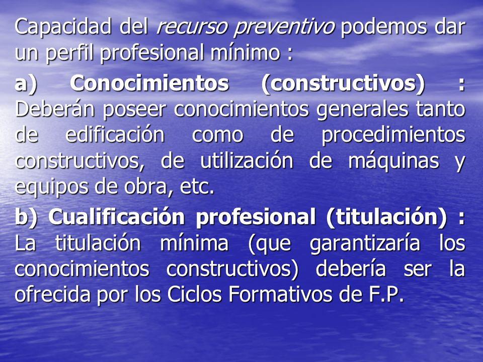 No obstante la formación técnica estará lógicamente en consonancia con el nivel exigido a los miembros de los Servicios de Prevención (propios o ajenos), con objeto de que no haya una formación diferente entre el trabajador asignado con la formación de los miembros del Servicio de Prevención.