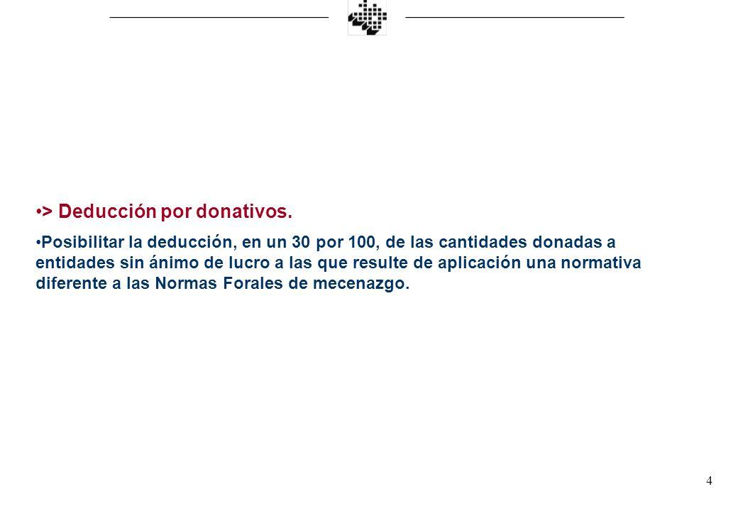4 > Deducción por donativos.