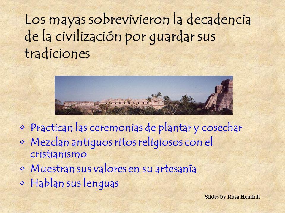 La gente abandonó las ciudades para vivir en pequeños grupos en la selva… Dejó la civilización para salvar su cultura… hasta hoy en día…