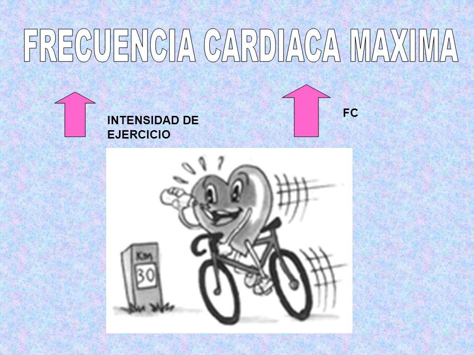 INTENSIDAD DE EJERCICIO FC