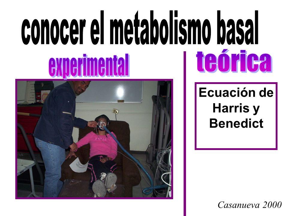 La actividad física se puede medir también en METs Equivalente metabólico GASTO ENERGÉTICO SENTADO QUIETO, EN REPOSO