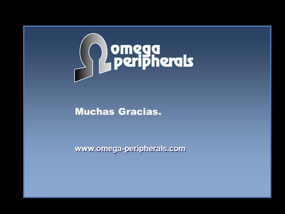 Muchas Gracias. www.omega-peripherals.com