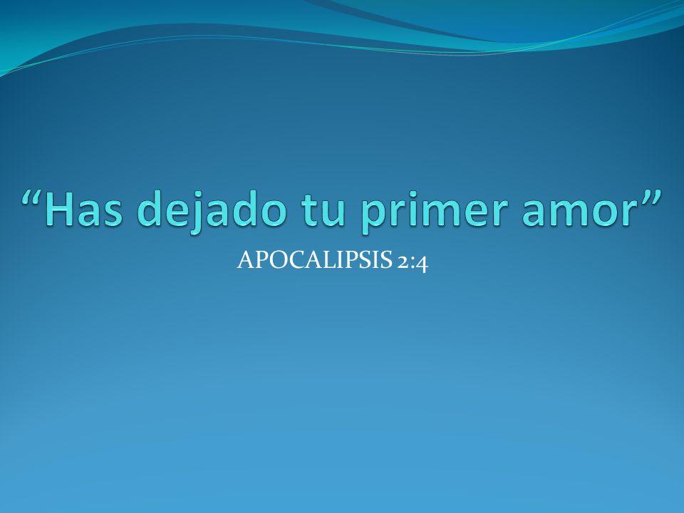 APOCALIPSIS 2:4