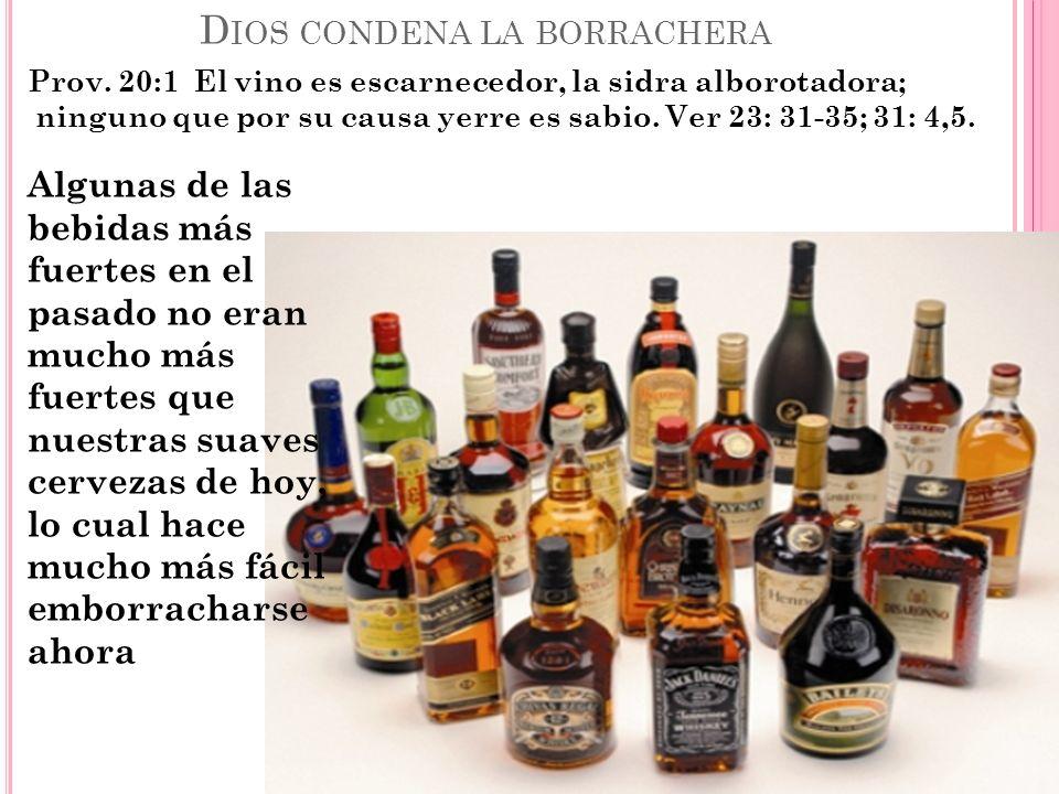 P ERO NO PODEMOS LIMITAR LOS EFECTOS EL ALCOHOL A LOS ACCIDENTES DE TRAFICO