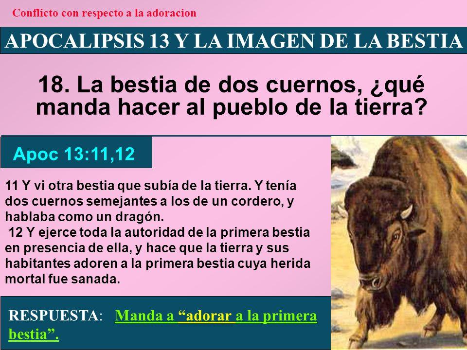 APOCALIPSIS 13 Y LA IMAGEN DE LA BESTIA 19.